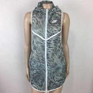 Nike tech hyperfuse Jacket Vest Hooded 645023 uu19